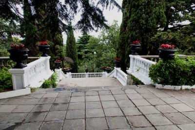 Лестнице в тенистых зарослях даже Воронцовский дворец позавидует